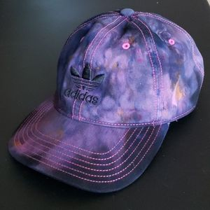 Adidas Watercolor Tie Dyed Relaxed Baseball Hat